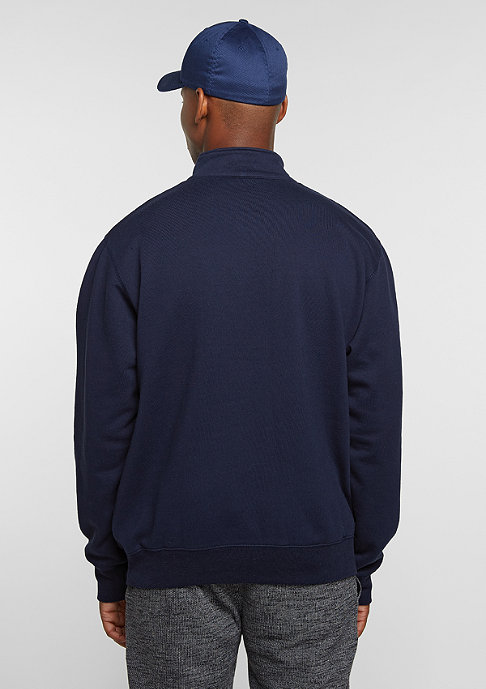 New Black Sport Half Zip navy