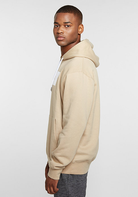 New Black Hooded-Sweatshirt Landscape Logo sesame