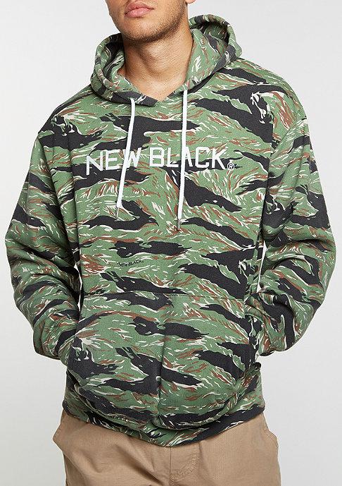 New Black Hooded-Sweatshirt Tiger wood