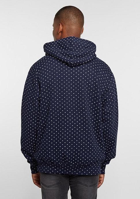 New Black Hooded-Sweatshirt Star navy