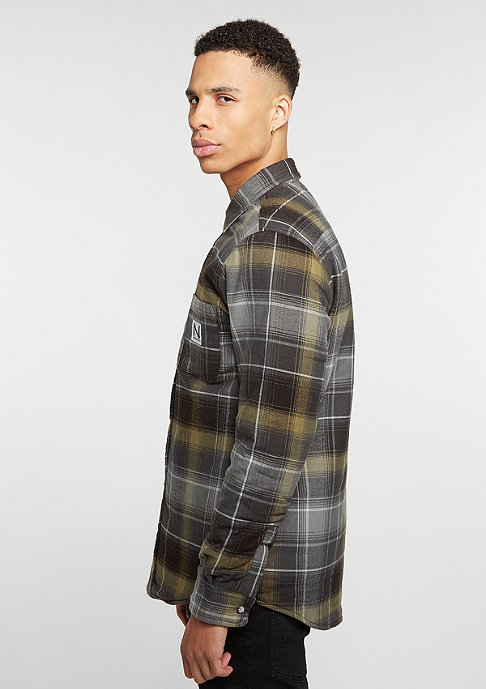 New Black Lumber Tartan grey