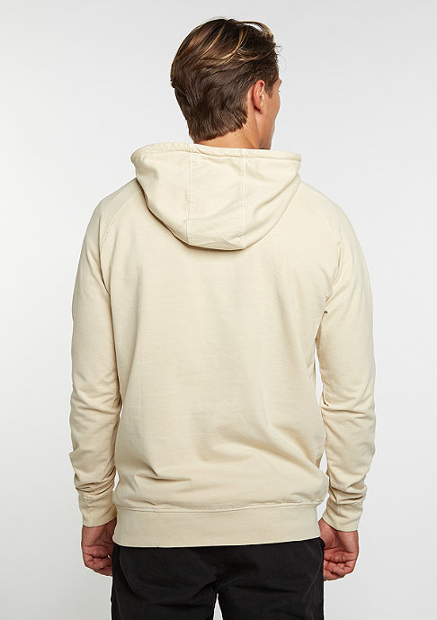 Urban Classics Hooded-Sweatshirt Acid Wash Raglan sand