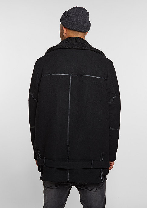 Black Kaviar Jacke Coat Krest Black
