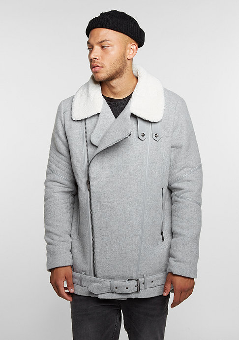 Black Kaviar Jacke Coat Krest Grey