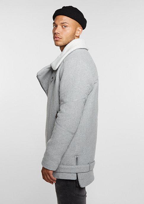Black Kaviar Jacke Coat Krest Grey
