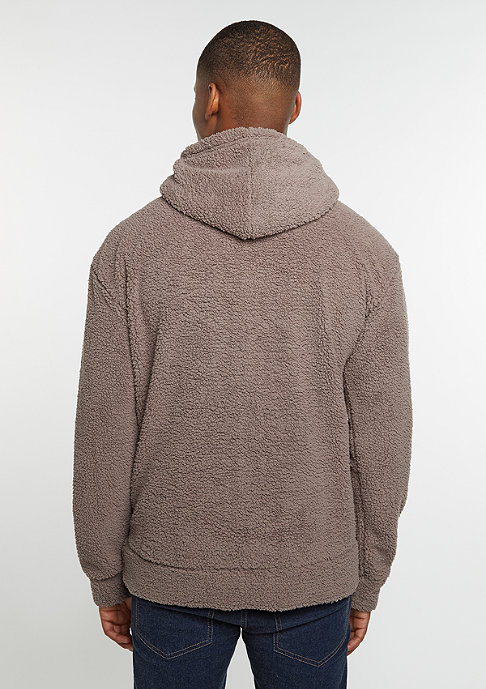 Urban Classics Sherpa High Neck taupe