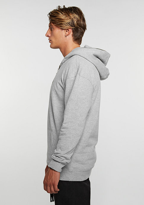 Urban Classics Hooded-Sweatshirt Troyer grey