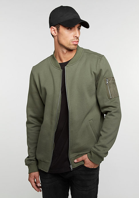 Urban Classics Sweat Bomber olive