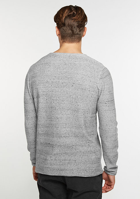 Urban Classics Fine Knit Cotton grey melange