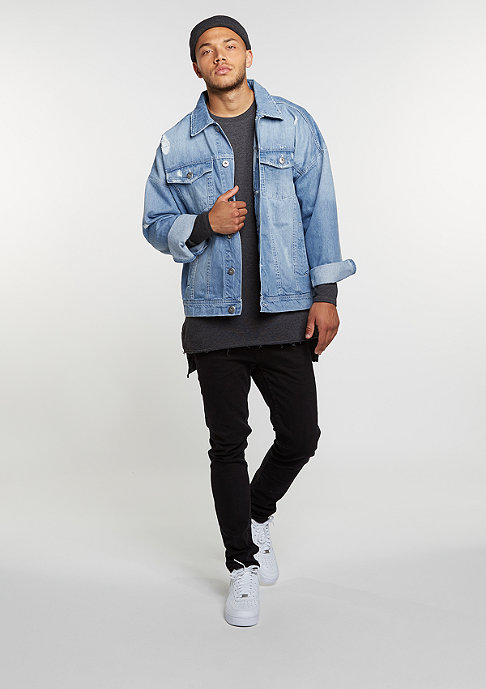 Urban Classics Ripped Denim bleached