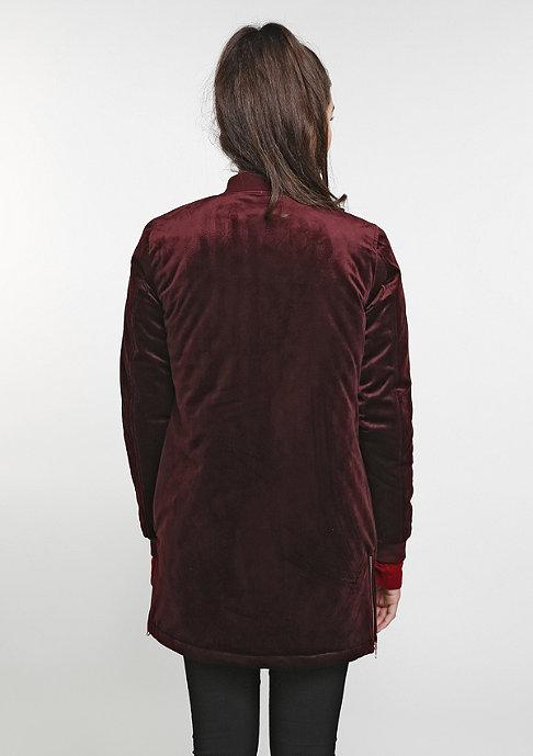 Urban Classics Long Velvet burgundy