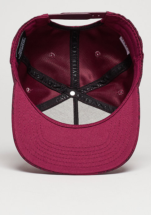 Cayler & Sons C&S CAP BL Paiz wine/black