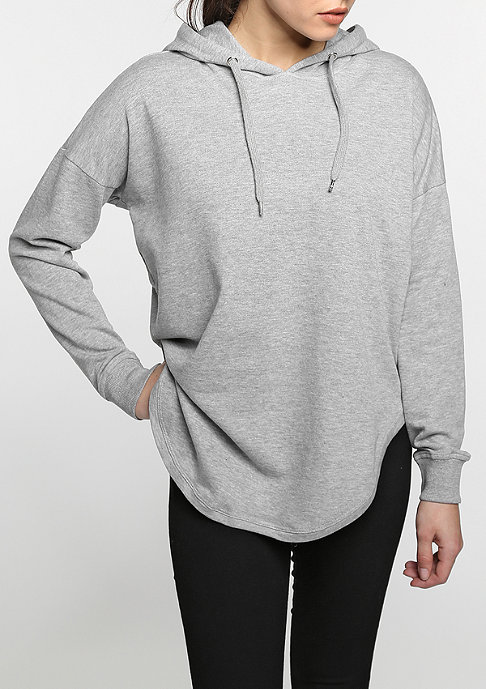 Urban Classics Hooded-Sweatshirt Oversized Terry grey