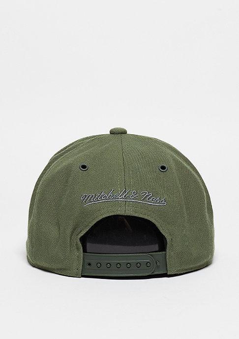 Mitchell & Ness Snapback-Cap Swipe olive