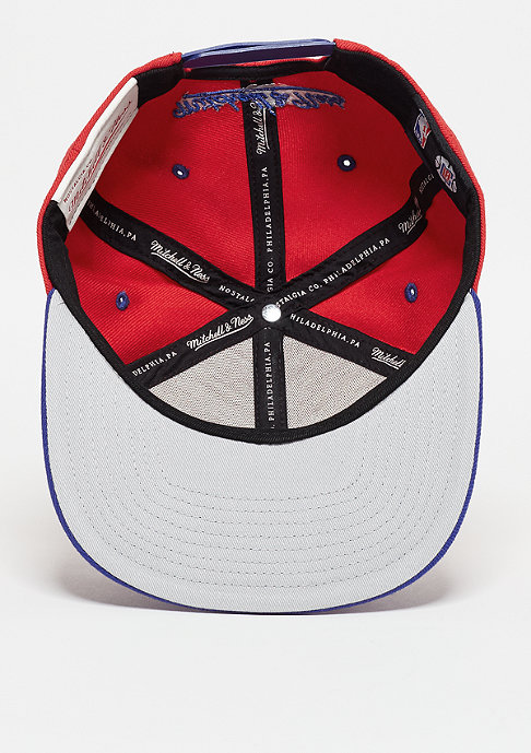 Mitchell & Ness Snapback-Cap Team Arch NBA Los Angeles Clippers red/blue