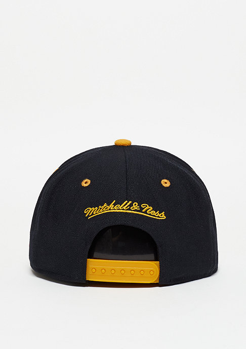 Mitchell & Ness Snapback-Cap Team Arch NBA Los Angeles Lakers black/yellow