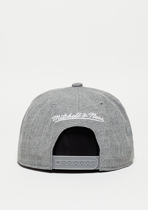 Mitchell & Ness Pinscript grey heather