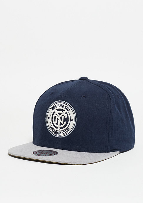 Mitchell & Ness Sandy MLS New York City FC navy/grey