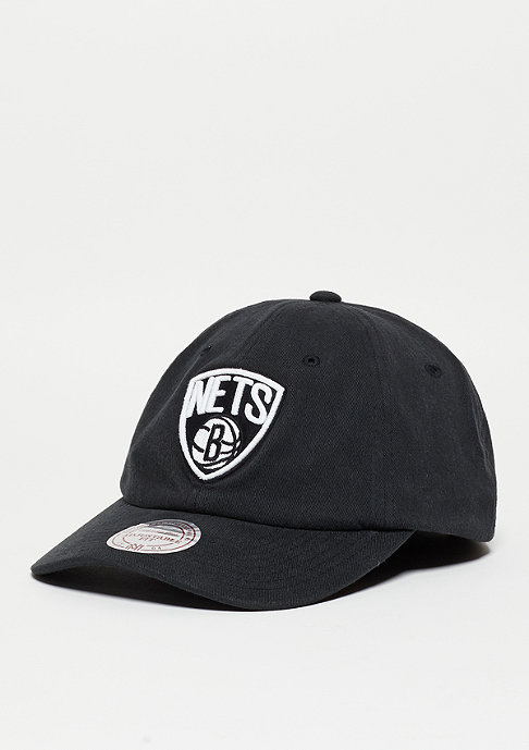 Mitchell & Ness Washed Cotton 110 NBA Brooklyn Nets black