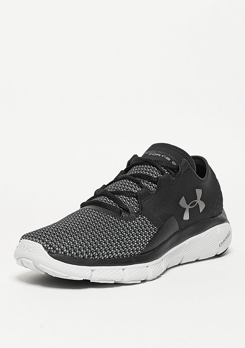 Under Armour Laufschuh Speedform Fortis 2 black/glacier grey/metallic silver
