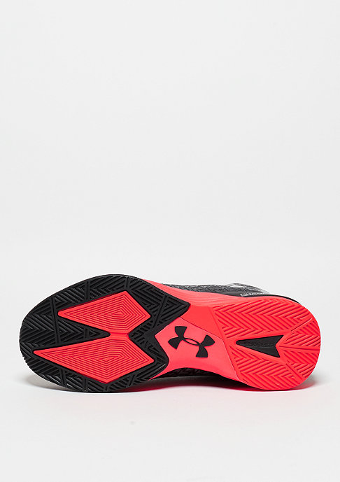 Under Armour Basketballschuh Clutch Fit Drive 3 black/rocket red/metallic silver