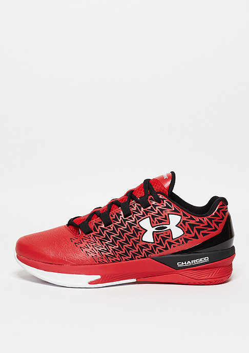 Under Armour Basketballschuh Clutch Fit Drive 3 Low red/black/white