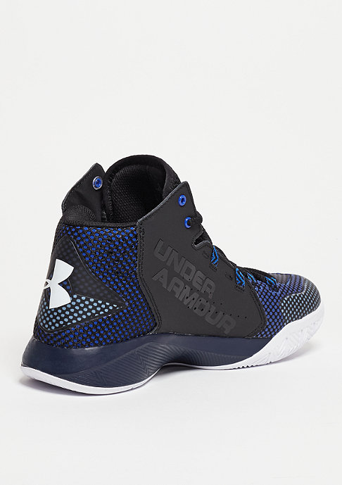Under Armour Basketballschuh Torch Fade black/team royal/white
