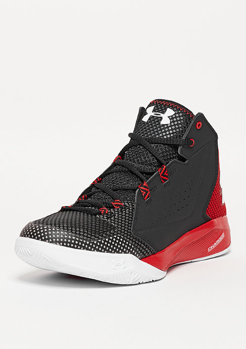 Under Armour Basketballschuh Torch Fade black/red/white