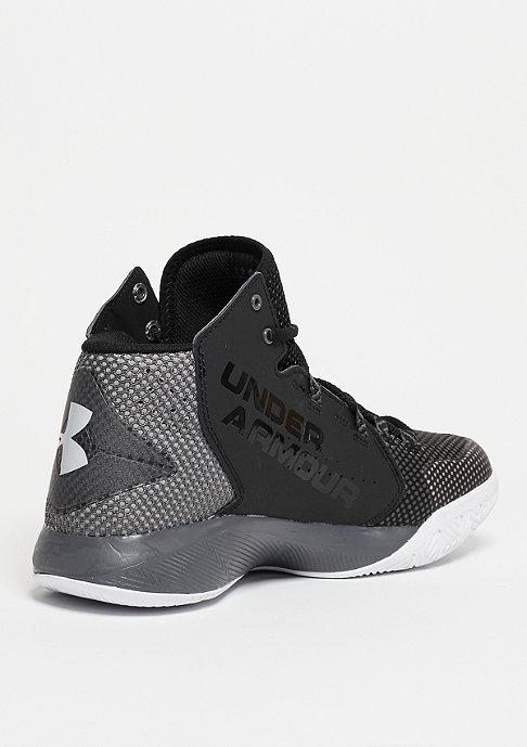 Under Armour Basketballschuh Torch Fade black/graphite/aluminium