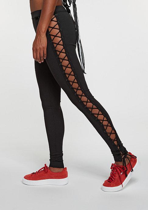Puma Fenty by Rihanna Leggings Lacing Tight Jersey black