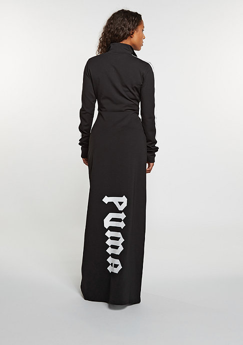 Puma Fenty by Rihanna Mock Neck Maxi Dress black
