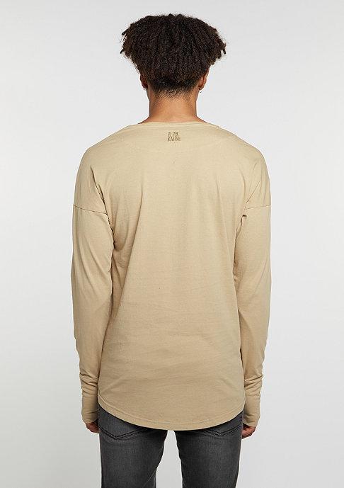 Black Kaviar T-Shirt Klock Beige