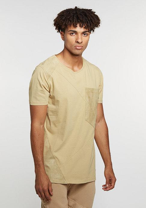 Black Kaviar T-Shirt Kling Beige