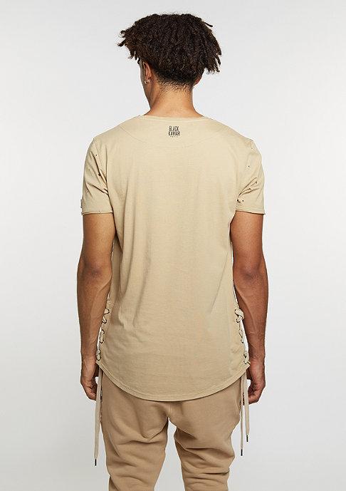 Black Kaviar T-Shirt Kigster Beige