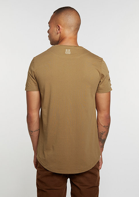 Black Kaviar T-Shirt Kraged Camel