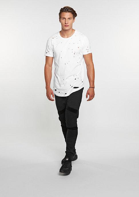 Black Kaviar T-Shirt Kurtis White