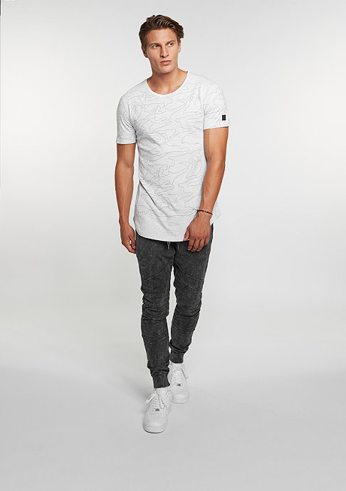 Black Kaviar T-Shirt Kamo Grey