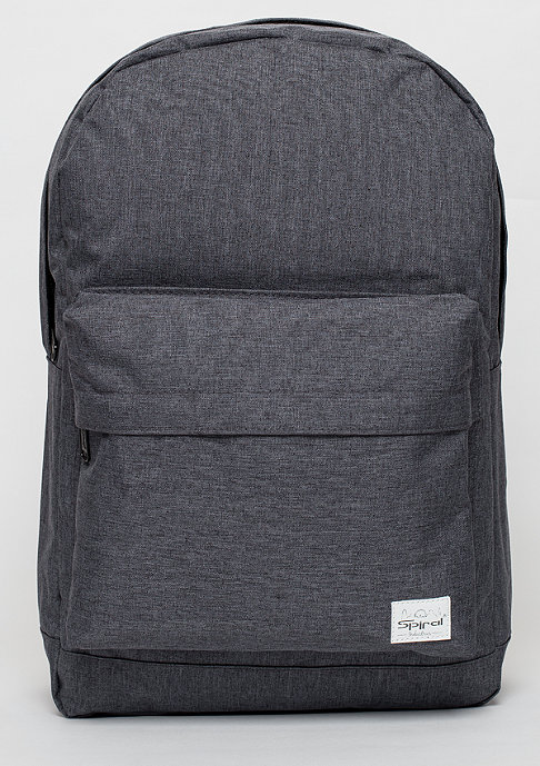 Spiral Rucksack Crosshatch charcoal