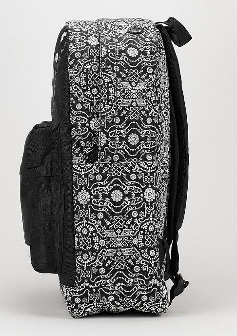 Spiral Bandana black/white