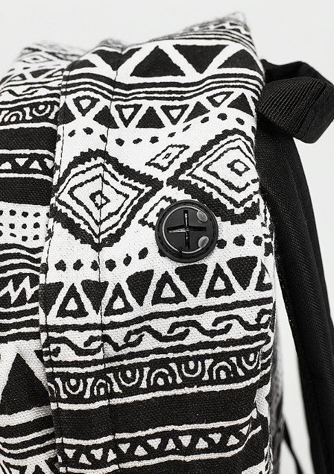 Spiral Rucksack Tribal Aztec black/white