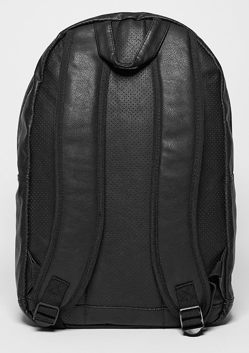 Spiral Rucksack Faux Leather black