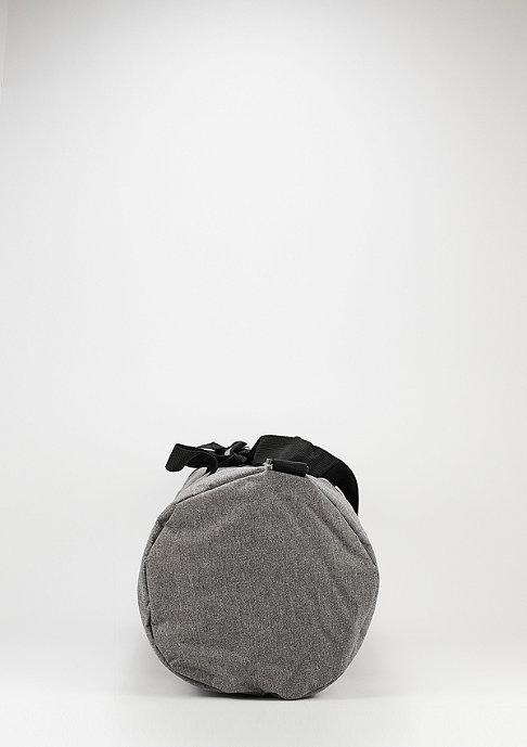 Spiral Duffel crosshatch grey