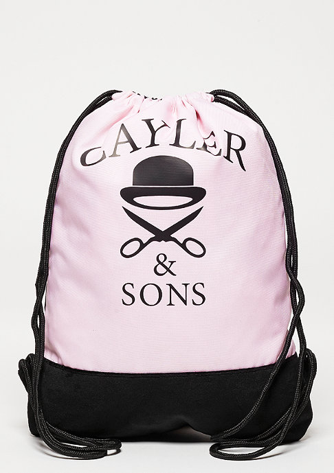 Cayler & Sons C&S Gymbag Dabbin Crew pink/black/multi