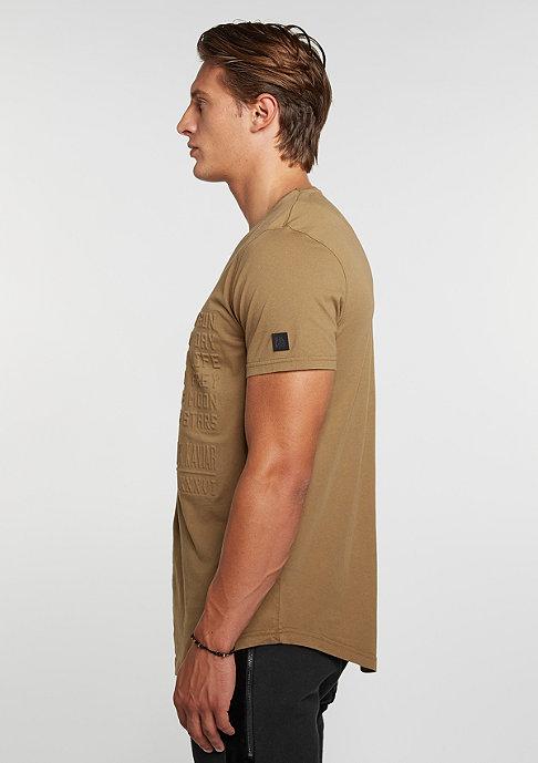 Black Kaviar T-Shirt Kalipso Camel