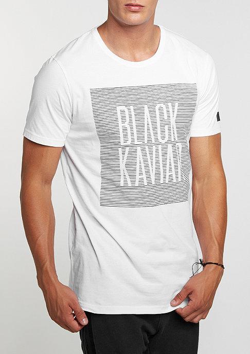 Black Kaviar BK Tee Kalke White