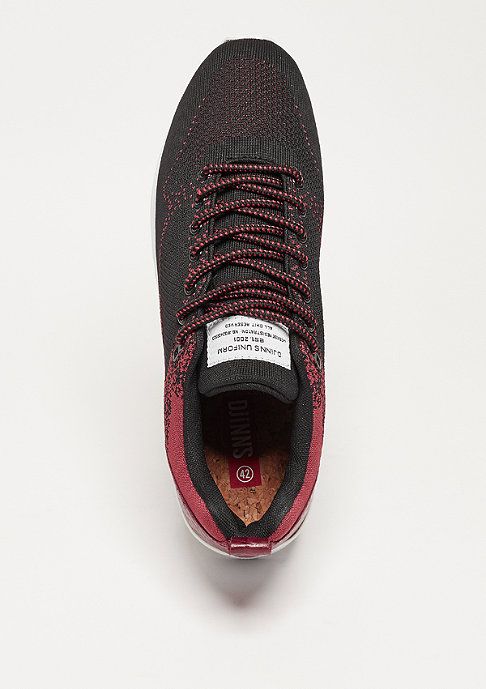 Djinn's Easy Run Gator Knit black/wine