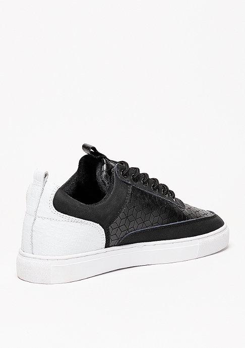 Djinn's Schuh Forlow Rubber Croc black/white