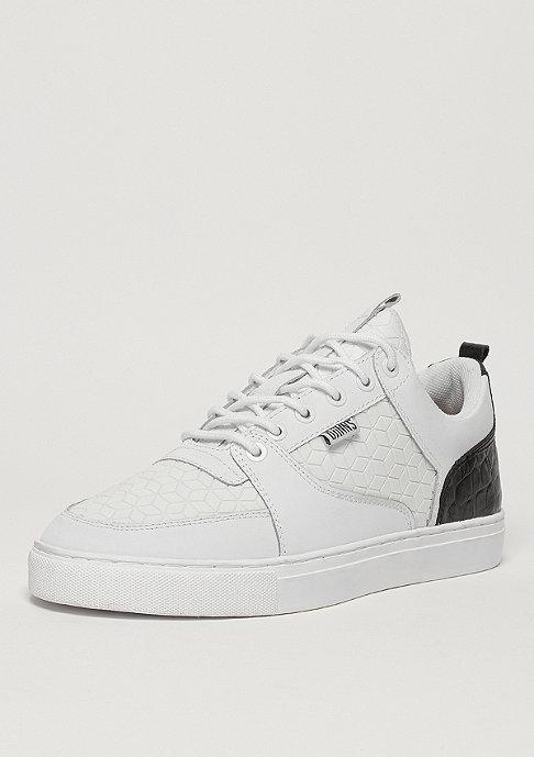 Djinn's Schuh Forlow Rubber Croc white/black