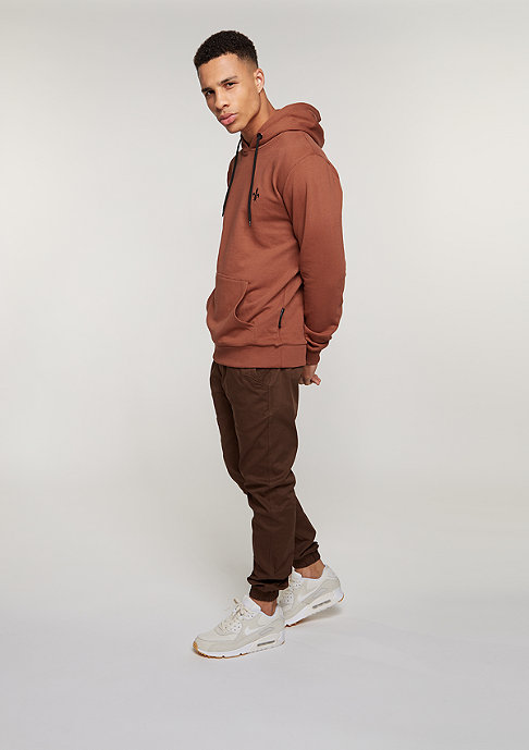 Criminal Damage Hooded-Sweatshirt West Slim rust/rust