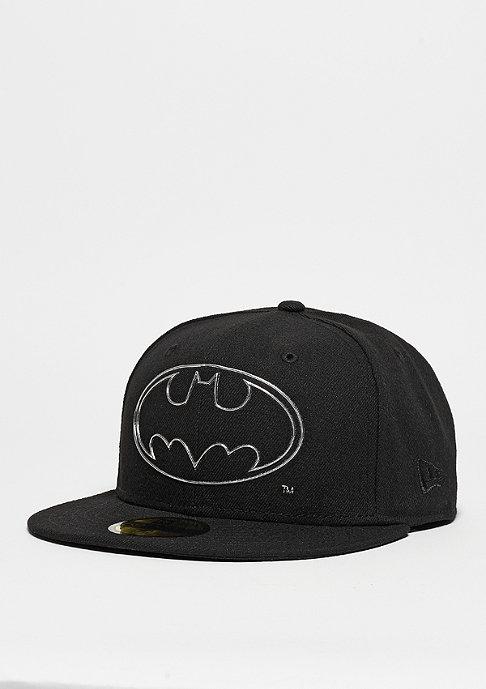 New Era Fitted-Cap Remix Liquid Logo Batman black